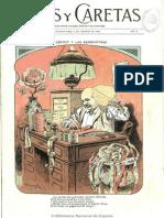 Caras y Caretas (Buenos Aires). 3-2-1900, n.º 70