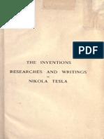 Tesla Book