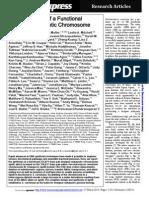Science 2014 N. Annaluru Science Creating an artificial cell