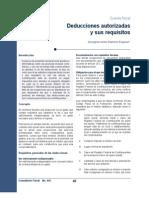 445_Deducciones Autorizadas y Sus Requisitos