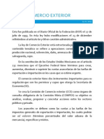 Unimex Ley de Comercio Exterior