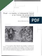 Pinel a mania o tratamento moral e os inicios da psiquiatria contemporanea.pdf
