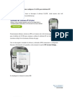 Configuracion X LITE Telefonia IP