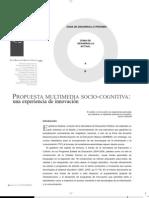 Propuesta Multimedia Socio-Cognitiva
