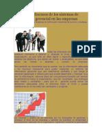 Información Gerencial en Las Empresas