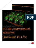 IEC61850 Automatizacion de Subestaciones