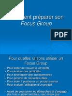 Comment Préparer Son Focus Group