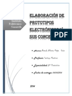 Elaboración de Prototipos Electrónicos y Sus Conceptos