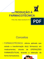 Introducao a Farmacotecnica - c