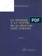 La Nulidad y La Rescision - Tomo II (Alessandri Besa)