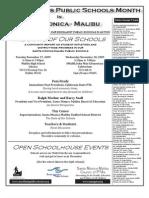 Public Schools Week Flyer