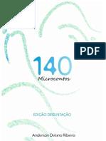 140 Microcontos (Edição Degustação) - Anderson Delano Ribeiro