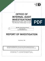 DISD internal investigation into Earl Jones
