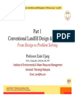 Conventional Landfill Design _ Operation