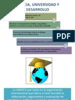 Ciencia, Universidad y Desarrollo