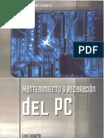 Mantenimiento Y Reparacion Del PC