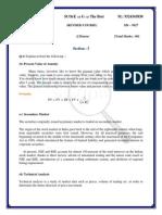 IAPM University Paper - Solution