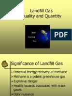 Methane Quality Quantity