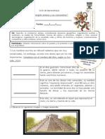 Guía de Aprendizaje 4TO BASICO Aztecas (Religión y Costumbres)