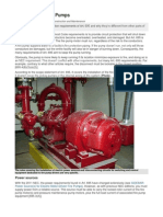 695 NEC Rules for Fire Pumps