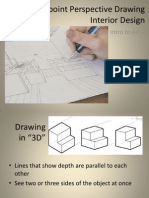 1-Point Perspective Drawing