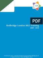 Redbridge London MLE Training