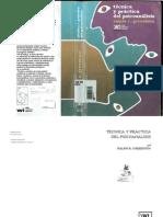 Greealson, Ralpla - Técnica y Práctica Del Psicoanálisis - Ed. Siglo XXI