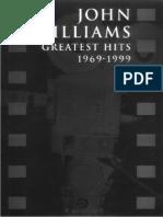 Book - John Williams - Greatest Hits 1969 - 1999