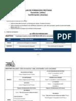 Plan de Formacion Cristiana 2012 -2013