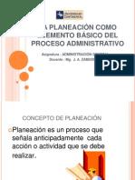 Separata 4 La Planeacion Como Elemento Basico Del Proceso Administrativo