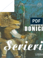 Donici Alecu - Scrieri (Tabel Crono)