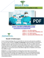 Novalis TX Radiosurgery at Best Hospitals in India
