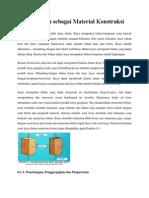 Sifat Kayu Sebagai Material Konstruksi (1)