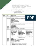 Program DRAFT 2014