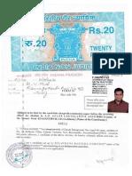 Dande Vithal(TRS) AFFIDAVIT FILED OF SANATHNAGAR CONSTITUENCY