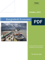 Bangladesh Economic Update by WB Oct 2012