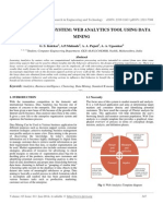 Variance Rover System Web Analytics Tool Using Data