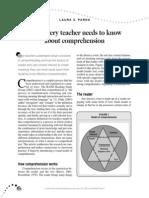 Teachers Know Comprehension