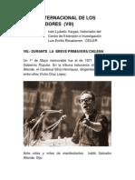 EL DÍA INTERNACIONAL DE LOS TRABAJADORES  (VIII)