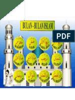 Nama-nama Bulan Islam