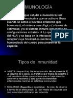 1.- Introduccion a la inmunología