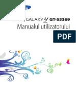 Manual Utilizare Telefon Samsung
