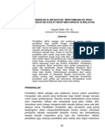 Jilid 1 Bil 2 Dis 2009 - Pendidikan Alam Sekitar Menyumbang Ke Arah Peningkatan Kuali