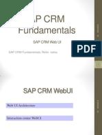 Sap Crm Fundamentals Webui 321
