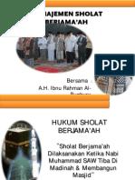 Manajemen Sholat Berjama'Ah