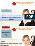 Eligible Occupations List for the Canada Federal Skilled Worker Program 2014
