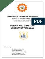 Design & Drafting Lab Manual