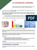 Tema 1.Propiedades y Estados de La Materia (Alumnos)
