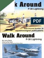 Walk Around P-38 Lightning (No. 30)