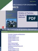 4 Kinetics of Particle-Impulse Momentum